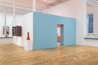'Nathalie Du Pasquier: From time to time' installed at Pace London, 6 Burlington Gardens, June 28 - July 29 2017 format of photography: digital name of photographer: Damian Griffiths date of photography: 28/06/2017