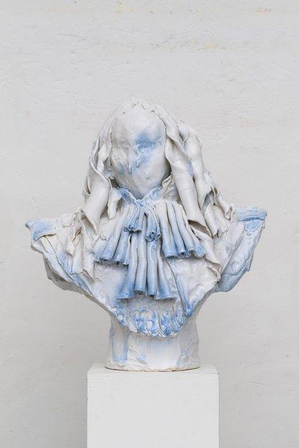 Emiliano Maggi Blu Silk Jabot, 2019 Art Super Digital Collectors Guide 2020 ArteBa